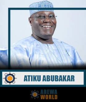 Atiku Abubakar GCON is a Nigerian politician and businessman. He served as the 11th vice-president of Nigeria from 1999 to 2007 under the presidency of Olusegun Obasanjo. He is a member of People's Democratic Party. In 1998 he was elected Governor of Adamawa State