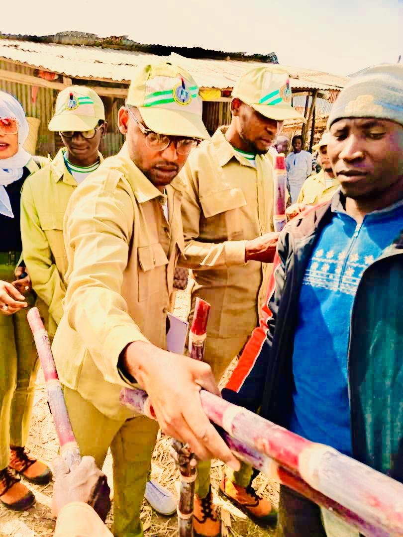 Sanitation in Nigeria: NYSC Corpers visit local markets